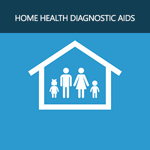 family home icon, isolated, white on the blue background